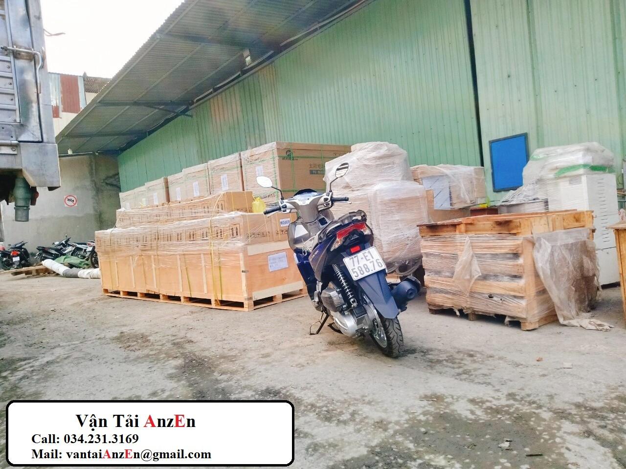 Vận Tải Bắc Nam 16 - Vận chuyển hàng hóa Đà Nẵng đi Long An