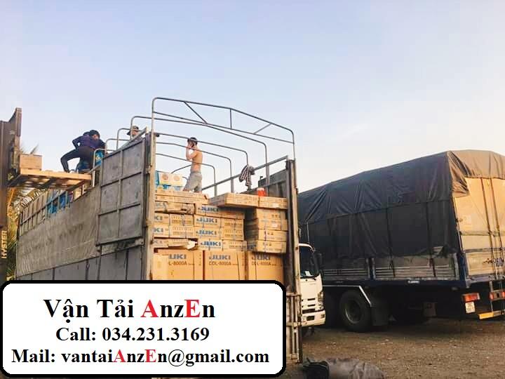 Vận chuyển hàng hóa Hưng Yên đi TP Hồ Chí Minh