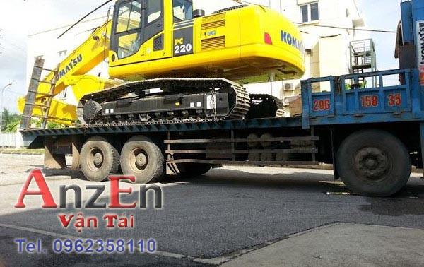 ee 1 - Vận chuyển máy xúc đi Thái Bình
