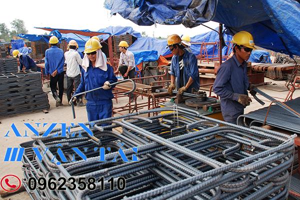 Vận chuyển vật liệu xây dựng đi Ninh Thuận