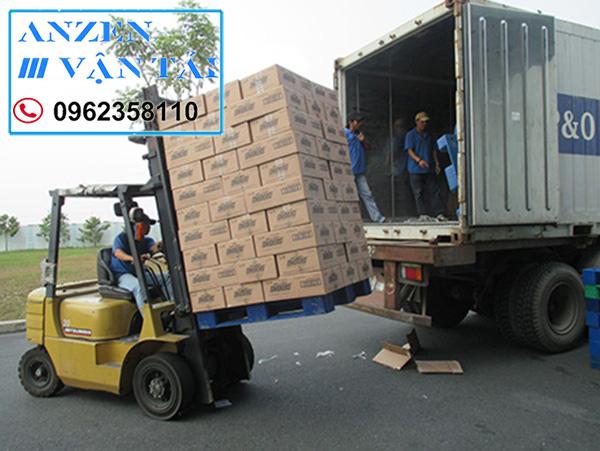 van tai AnzEn cv 6 - Vận chuyển vật liệu xây dựng đi Phú Thọ