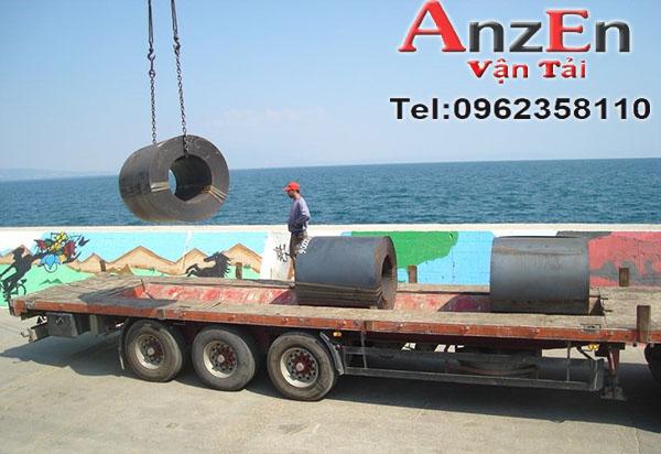 Vận chuyển sắt thép đi Phú Yên giá rẻ