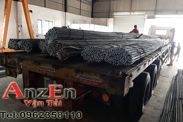 Vận chuyển sắt thép đi Ninh Thuận giá rẻ