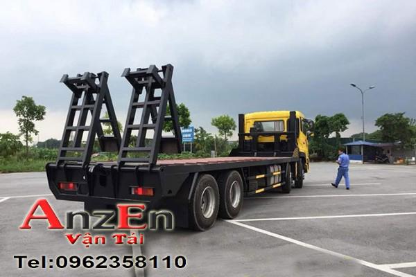 van tai anzen 4c 1 - Vận chuyển máy ủi đi Ninh Thuận