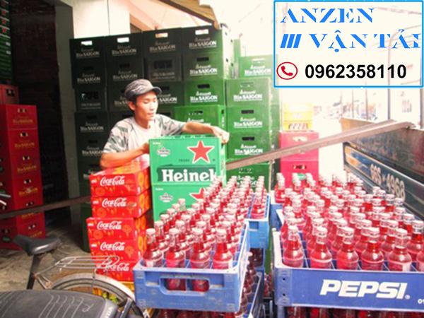 van tai anzen 8ae 1 - Vận chuyển bia nước ngọt đi Ninh Bình