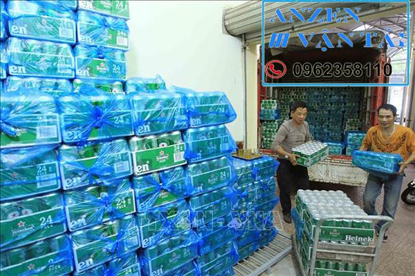 Vận chuyển bia nước ngọt đi Huế