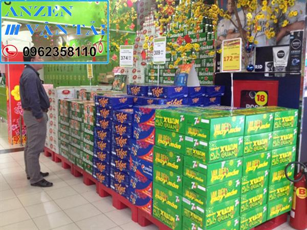 Vận chuyển bia nước ngọt đi Ninh Thuận