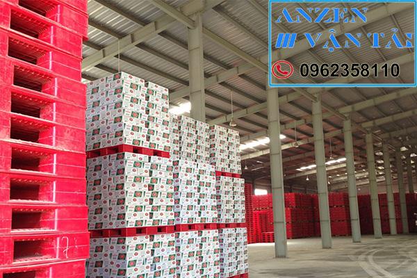 van tai anzen 8r - Vận chuyển bia nước ngọt đi Ninh Thuận
