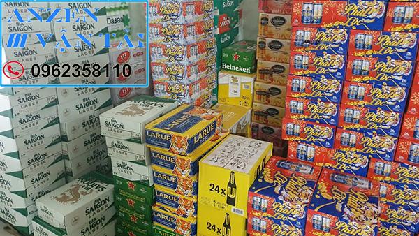 Vận chuyển bia nước ngọt đi Quảng Ngãi