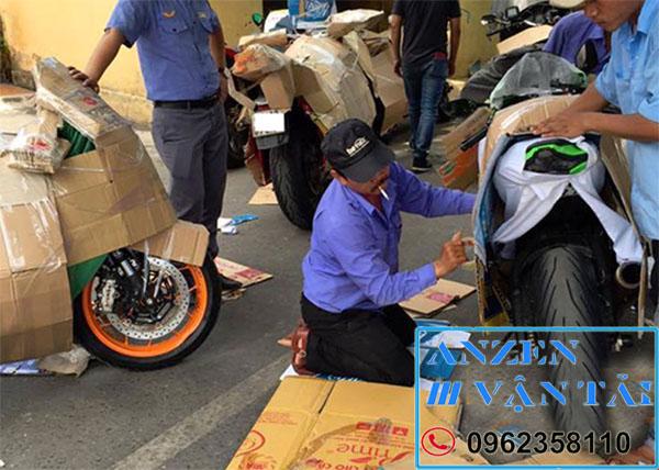 Vận chuyển xe máy đi Hải Phòng