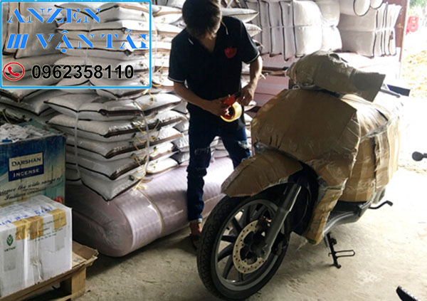 Vận chuyển xe máy đi Bình Phước