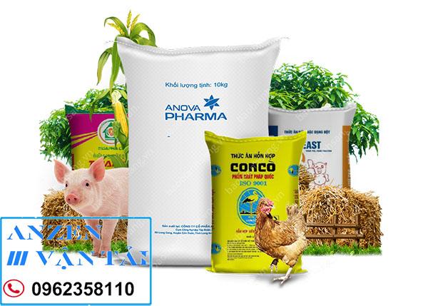 anzen 2 - Vận chuyển thức ăn chăn nuôi đi Điện Biên