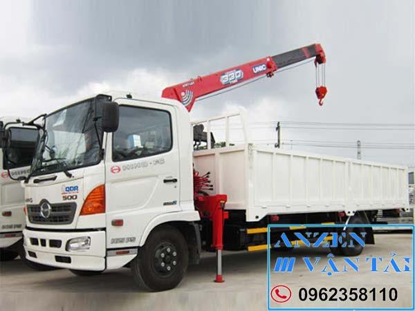 Cho thuê xe cẩu tại Quảng Bình