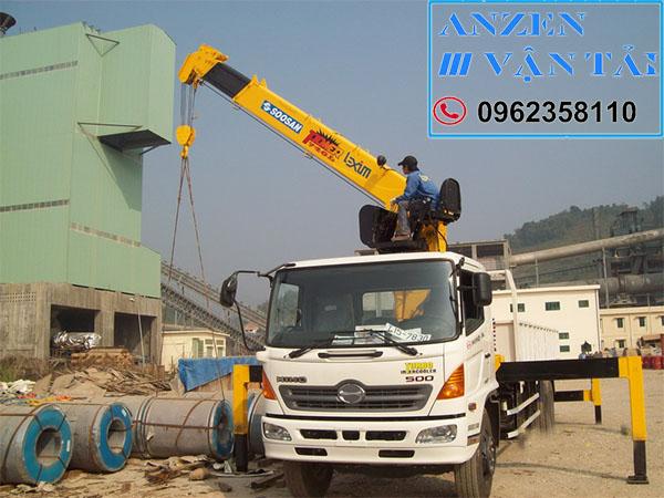 Cho thuê xe cẩu tại Quảng Ngãi