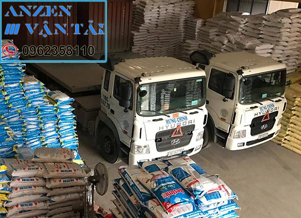 Vận chuyển thức ăn chăn nuôi đi Nghệ An