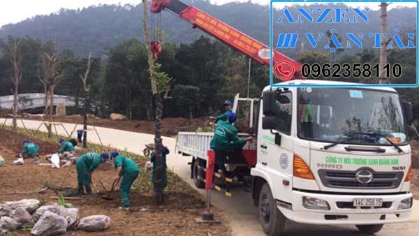 Cho thuê xe cẩu tại Điện Biên