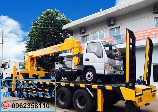 Cho thuê xe cẩu tại Bắc Giang