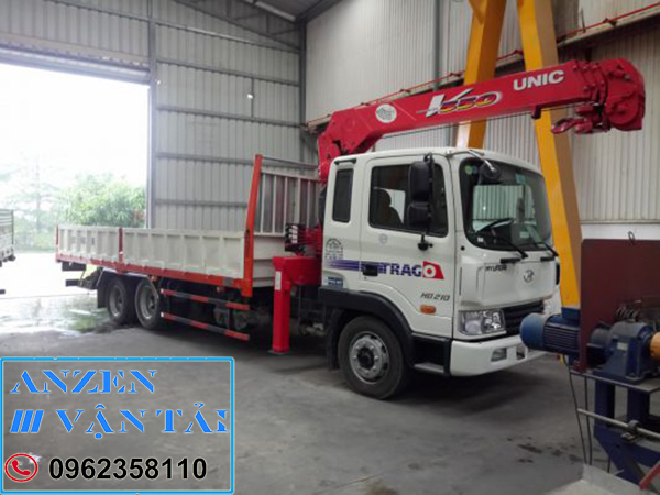 van tai anzen 8m 3 - Cho thuê xe cẩu tại Ninh Thuận