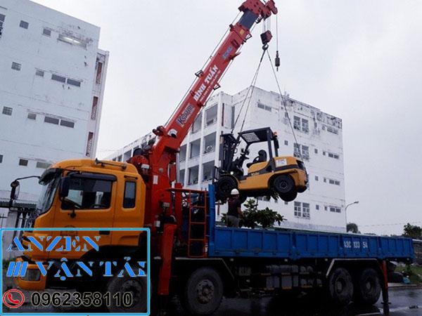 Cho thuê xe cẩu tại Ninh Bình