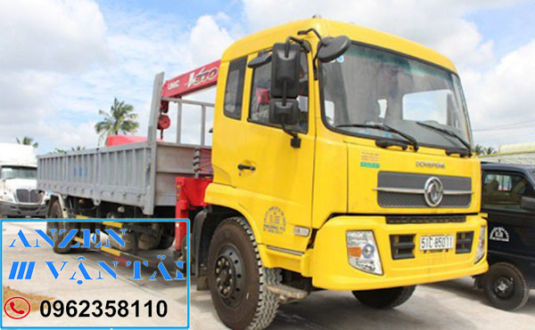 van tai anzen 8r 6 - Cho thuê xe cẩu tại Phú Thọ