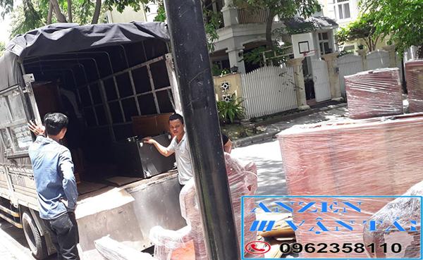van tai anzen 9i 3 - Dịch vụ chuyển nhà đi Ninh Thuận