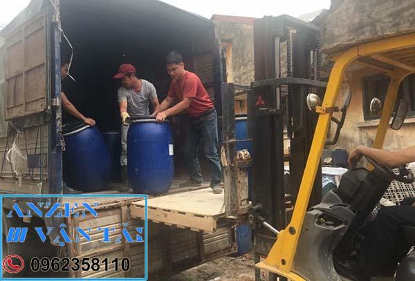 Vận chuyển hóa chất đi Bình Định