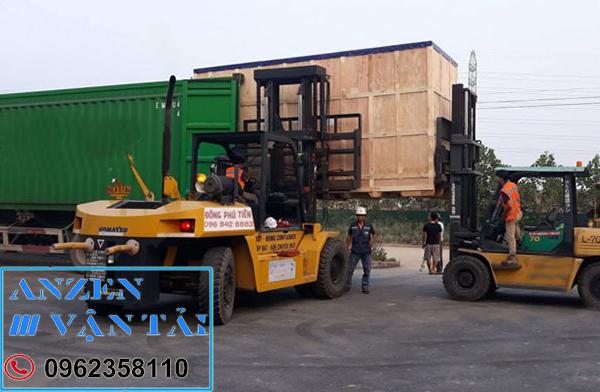 Vận chuyển thiết bị máy móc đi Phú Yên