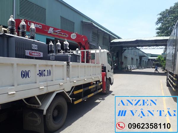 Vận chuyển thiết bị máy móc đi Điện Biên