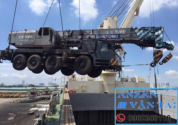 Vận chuyển thiết bị máy móc đi Bình Định